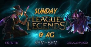 League of Legends Night @ Adventure Games